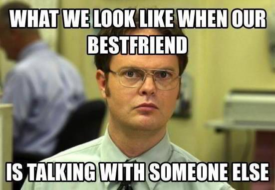 I Love My Best Friend Meme 2